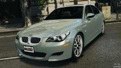 BMW M5 E60 2009 v2.0 para GTA 4