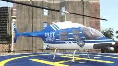 Bell 206 B - NYPD para GTA 4