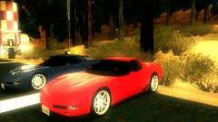 Chevrolet Corvette C5 z06 para GTA San Andreas