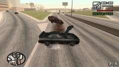 A perda de vidas no acidente