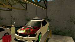 Toyota Height branco para GTA San Andreas