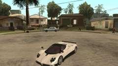 Pagani Zonda F branco para GTA San Andreas