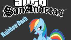 Rainbow Dash Skin para GTA San Andreas