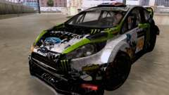 Ken Block Ford Fiesta 2012