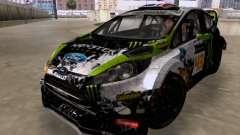 Ken Block Ford Fiesta 2012