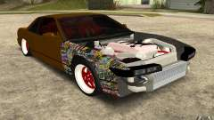 Nissan Silvia S13 Crash Construction para GTA San Andreas
