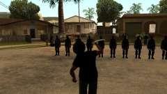 A luta com o katanas na Grove Street