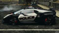 Lamborghini Sesto Elemento 2011 Police v1.0 ELS
