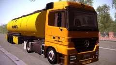 Mercedes-Benz Actros Rosneft