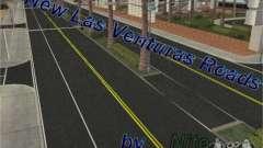 Novas estradas em Las Venturas