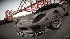 Ford GT prata para GTA San Andreas