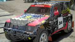 Mitsubishi Pajero Proto Dakar EK86 vinil 1