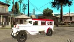 Ambulância de GAZ AA