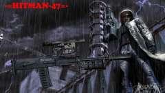 Um conjunto de armas do perseguidor V2
