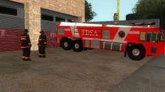 Estação de fogo realista em SF v 2.0