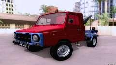 Caminhão de reboque de LuAZ 13021