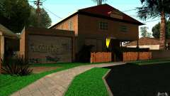 Nova casa na Grove Street CJ