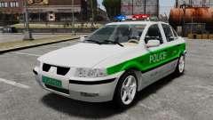 Iran Khodro Samand LX Police para GTA 4