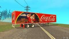 O reboque para o Peterbilt 379 personalizado Coca-Cola para GTA San Andreas