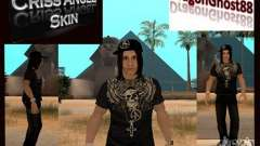 Criss Angel Skin para GTA San Andreas