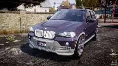 BMW X5 xDrive 4.8i 2009 v1.1 para GTA 4