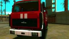 MAZ 533702 AC-2, 5-40 para GTA San Andreas