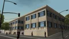 Estrutura de garagens e edifícios em SF