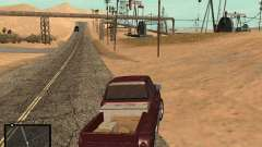 GTA V Interface for Samp para GTA San Andreas