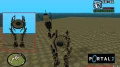 Robô de Portal 2 # 1