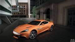 Aston Martin Vanquish V12 para GTA San Andreas