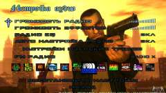 Menu no estilo do GTA 4 para GTA San Andreas