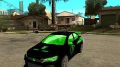Mitsubishi Lancer Evolution X E&R Prod para GTA San Andreas