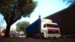 KamAZ 54115 Motoristas De Caminhão para GTA San Andreas