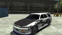 Nissan Stagea R34 GT-R para GTA 4