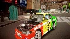 Nissan Silvia S15 Boso Drift Formula D M-Design para GTA 4