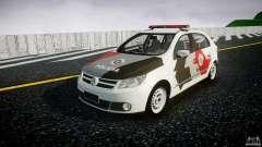Volkswagen Gol G5 PMSP [ELS] para GTA 4