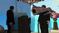 Coringa Joker de arma/canhão