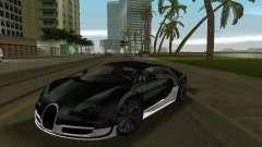 Bugatti Veyron Extreme Sport para GTA Vice City