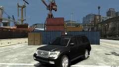 Toyota Land Cruiser 200 para GTA 4