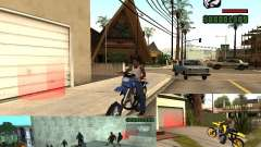 O script CLEO: Mototûning e Freestyle Motocross para GTA San Andreas