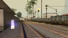 Luzes de tráfego ferroviário