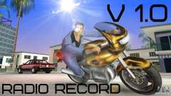 Radio Record by BuTeK para GTA Vice City