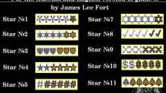 Novas estrelas para a capota # 1 para GTA San Andreas