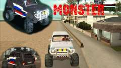 VAZ-21213 4x4 Monster para GTA San Andreas