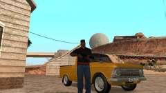 Armas no porta-malas para GTA San Andreas