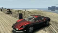 Ferrari Dino 1969 para GTA 4