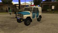 UAZ 31519 polícia