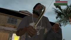 Steep Knife para GTA San Andreas