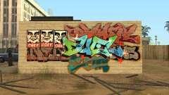 Cidade de los Santos graffiti lendas v1