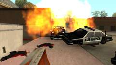 O script CLEO: metralhadora no GTA San Andreas